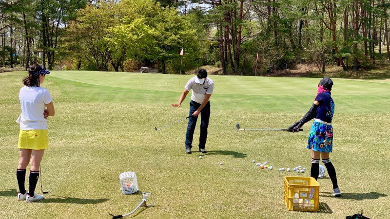 GEN-TENゴルフコースレッスン那須国際CCレッスンの写真