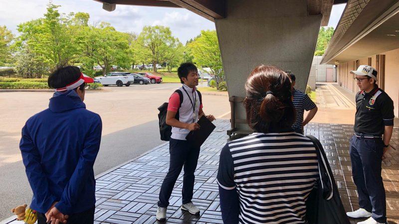GEN-TENゴルフコースレッスンリラックスゴルフ場ガイドツアー玄関の写真