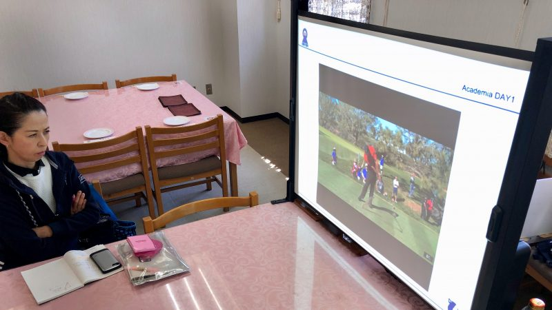 GEN-TENゴルフコースレッスンアカデミア講義の写真