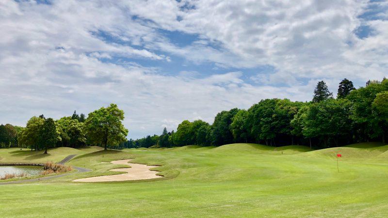 GEN-TENゴルフコースレッスンワンウェイGCフェアウェイとバンカーの写真