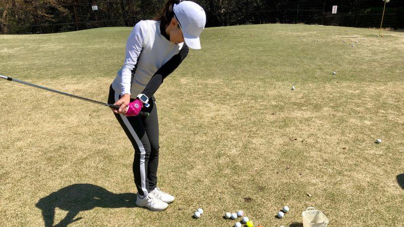 GEN-TENゴルフコースレッスンアカデミアアプローチの練習風景の写真③