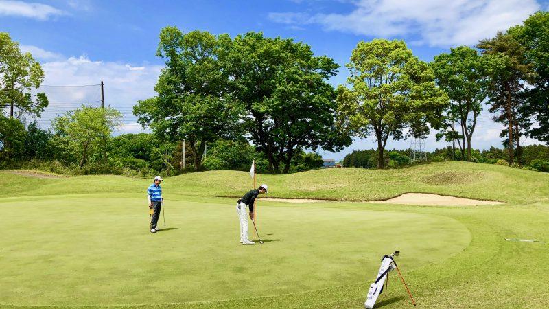 GEN-TENゴルフコースレッスンワンウェイGCパッティングの写真