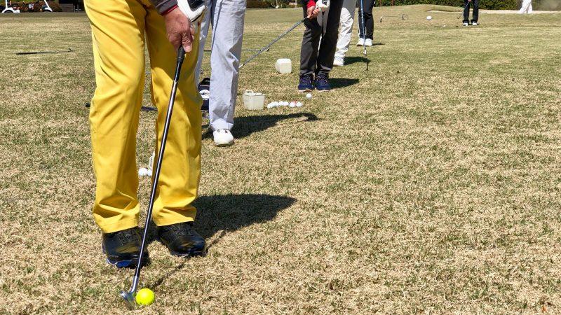 GEN-TENゴルフコースレッスンアカデミアアプローチの練習風景の写真④