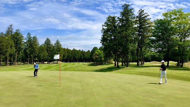 GEN-TENゴルフコースレッスンワンウェイGCグリーン周りの写真