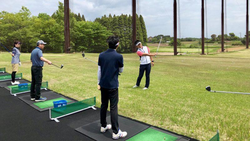 GEN-TENゴルフコースレッスンリラックスロングゲームレッスンの写真