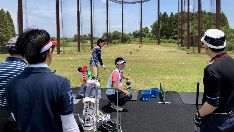 GEN-TENゴルフコースレッスンリラックスロングゲームレッスンの写真②