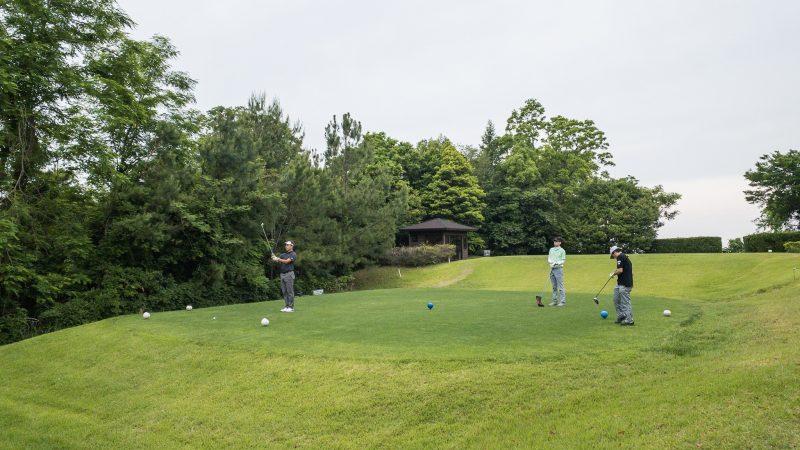 GEN-TENゴルフコースレッスン 松村大輝コーチのレッスンの様子9
