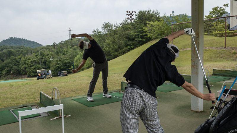 GEN-TENゴルフコースレッスン 松村大輝コーチのレッスンの様子4