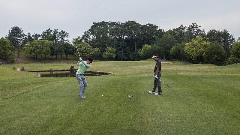 GEN-TENゴルフコースレッスン 松村大輝コーチのレッスンの様子10