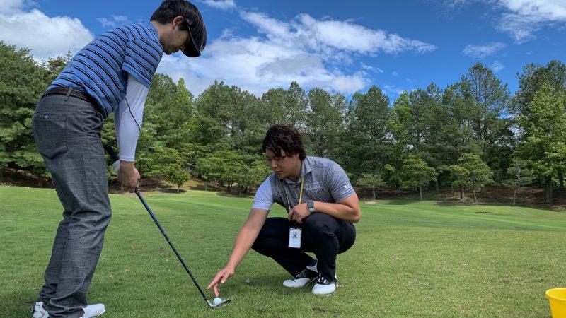 GEN-TENゴルフコースレッスン坂井 槙之介コーチのアプローチレッスンの様子11