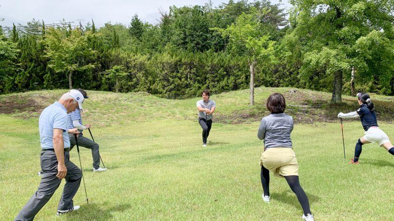 GEN-TENゴルフコースレッスン坂井 槙之介コーチのアプローチレッスンの様子5