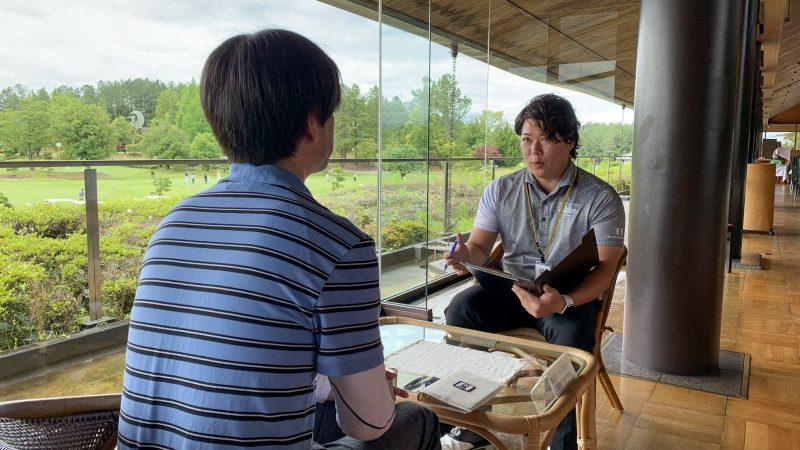 GEN-TENゴルフコースレッスン坂井 槙之介コーチのアプローチレッスンの様子4