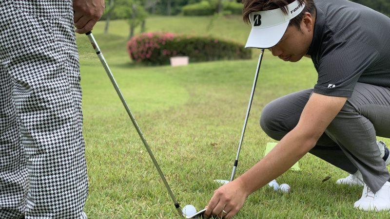 GEN-TENゴルフコースレッスン 松村大輝コーチのレッスンの様子6