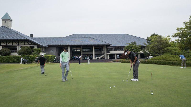 GEN-TENゴルフコースレッスン 松村大輝コーチのレッスンの様子7