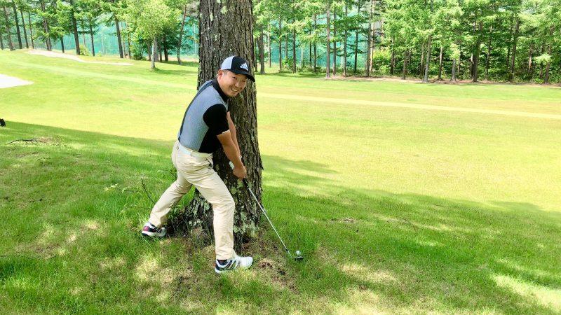 GEN-TENゴルフコースレッスントラブルショットの写真