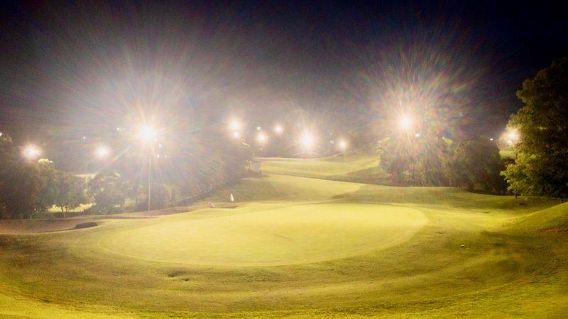 GEN-TENゴルフコースレッスンムーンレイクGC市原ホールアウト後の写真