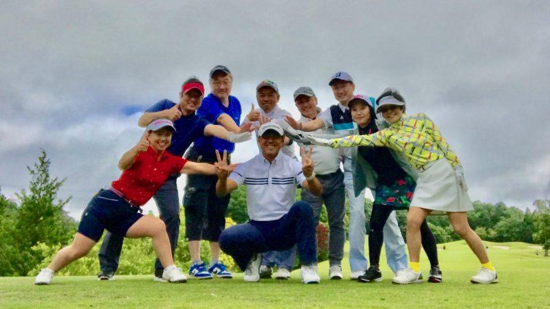 GEN-TENゴルフコースレッスンチャーターキャンプウィンザーパーク集合写真