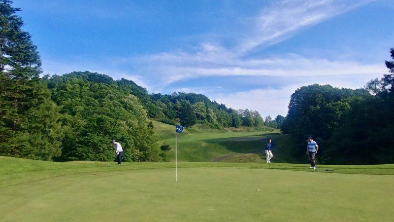 GEN-TENゴルフコースレッスンマオイゴルフリゾートアプローチの写真