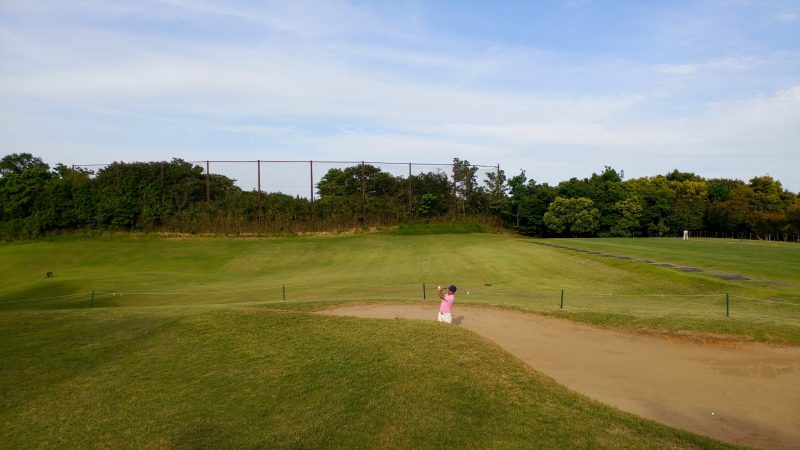 GEN-TENゴルフコースレッスンムーンレイクGC市原バンカー練習場の写真
