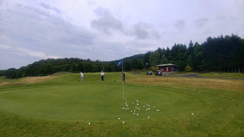 GEN-TENゴルフコースレッスンマオイゴルフリゾートアプローチ練習場の写真