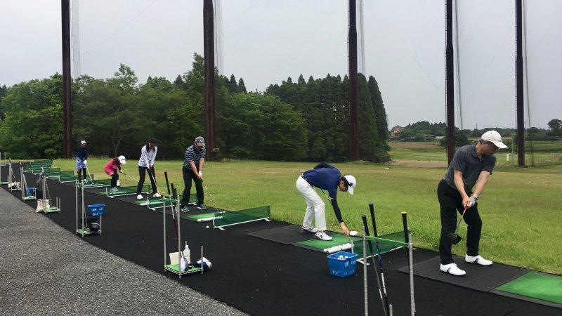 GEN-TENゴルフコースレッスンリラックスドライビングレンジの写真