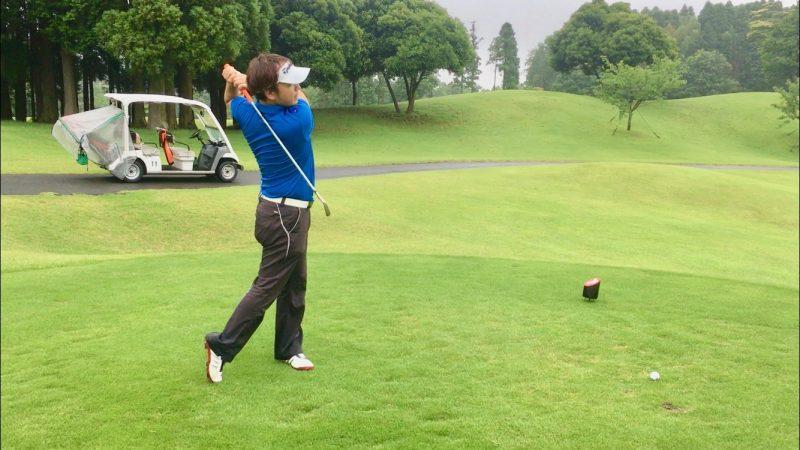 GEN-TENゴルフコースレッスンルーティーンフィニッシュの写真