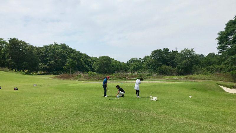 GEN-TENゴルフコースレッスンゲンテンレッスン15yrdアプローチの写真