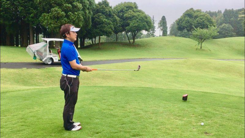 GEN-TENゴルフコースレッスンルーティーンエイミングの写真