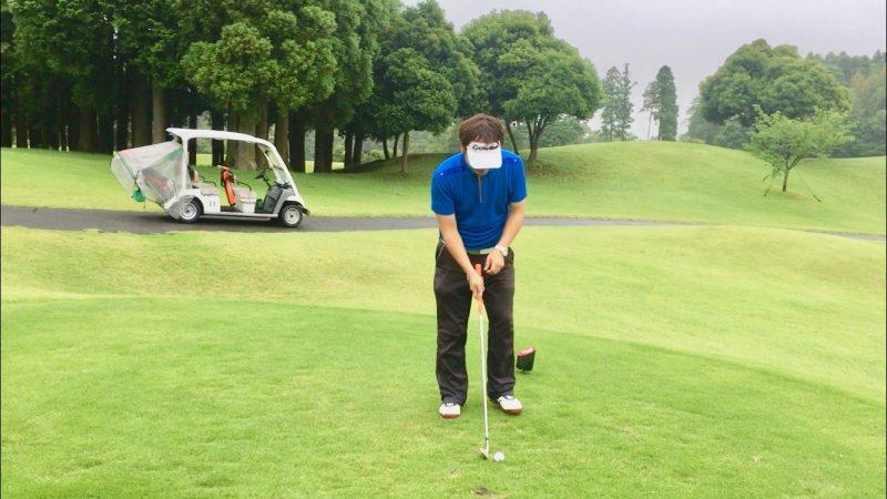 GEN-TENゴルフコースレッスンルーティーンセットアップの写真