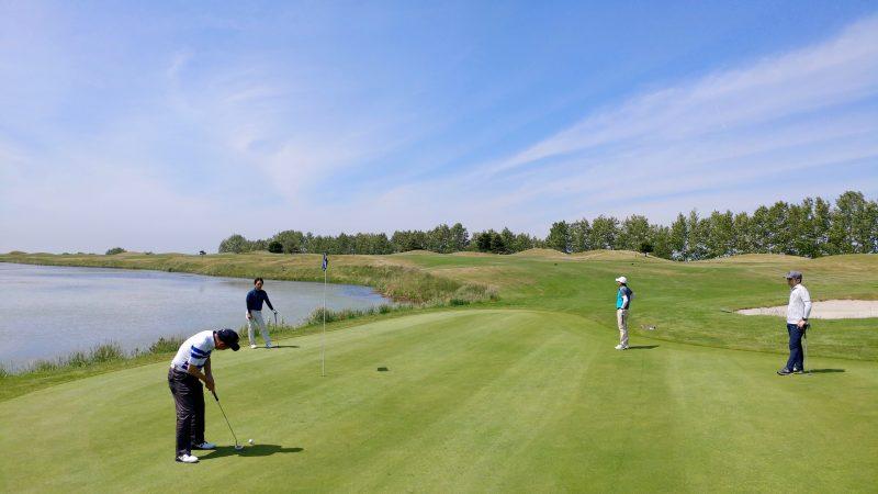 GEN-TENゴルフコースレッスンマオイゴルフリゾートパッティングの写真