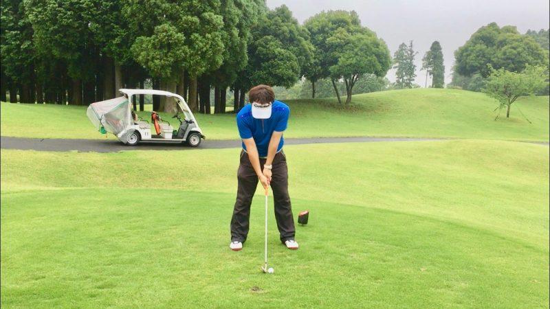 GEN-TENゴルフコースレッスンルーティーンアドレスの写真