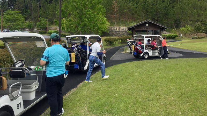 GEN-TENゴルフコースレッスンディスカバリーキャンプラウンド前の写真