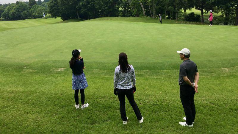 GEN-TENゴルフコースレッスンリラックスグリーンの写真