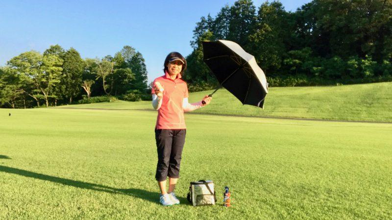 GEN-TENゴルフコースレッスン夏対策グッズの写真