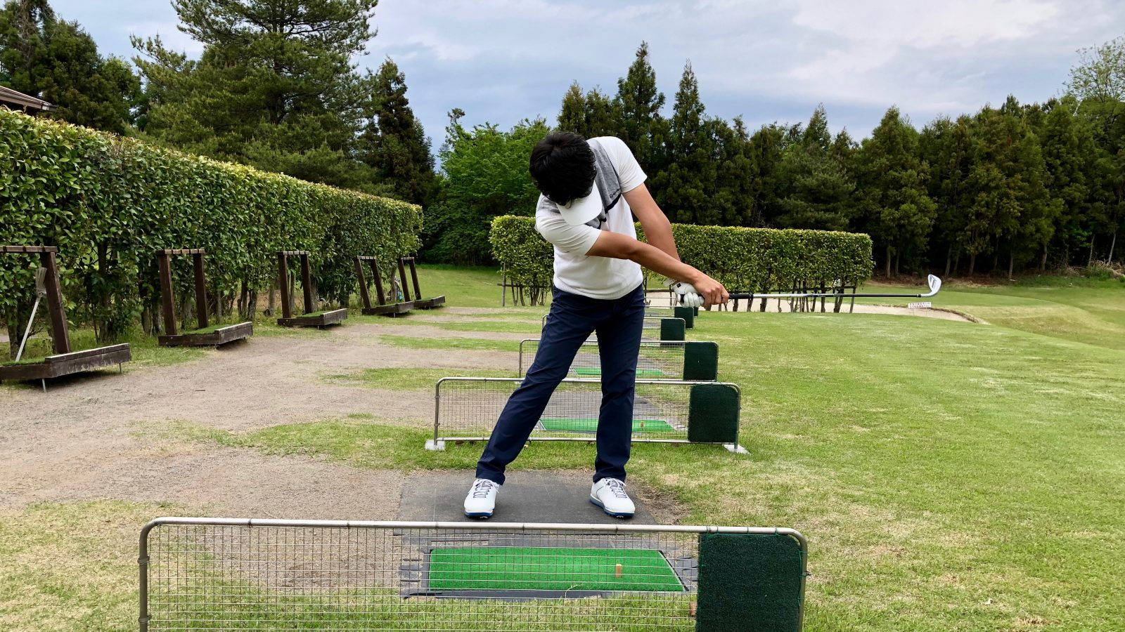 スロー ゴルフ スイング