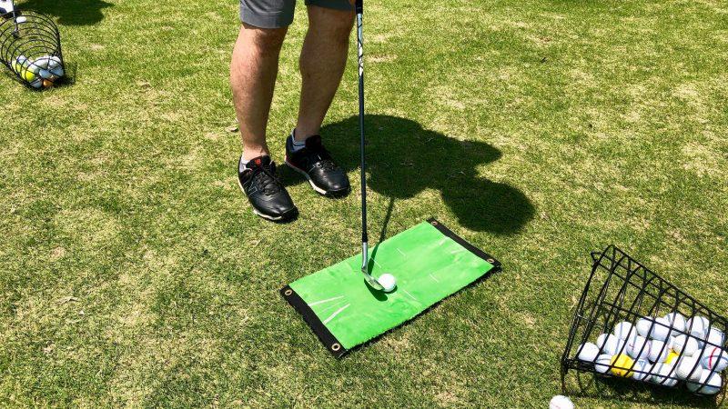 GEN-TENゴルフコースレッスン練習マットの写真