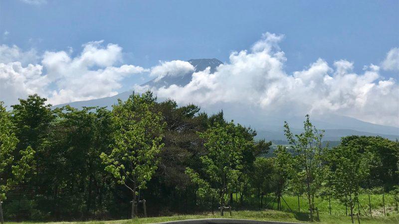 GEN-TENゴルフコースレッスン富士山の写真