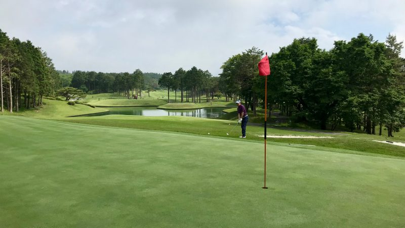 GEN-TENゴルフコースレッスン朝霧CCアプローチの写真