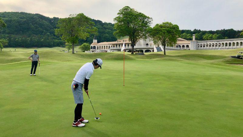 GEN-TENゴルフコースレッスンセゴビアGCインチヨダ9hグリーンの写真