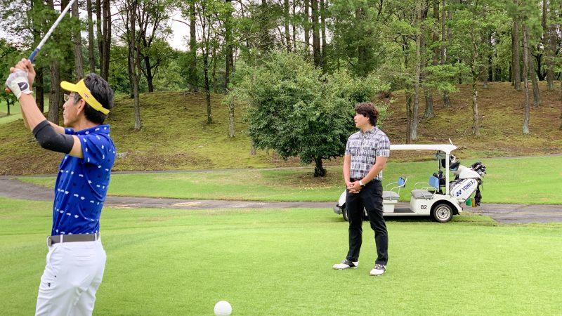 GEN-TENゴルフコースレッスンの写真9ホールラウンドレッスン