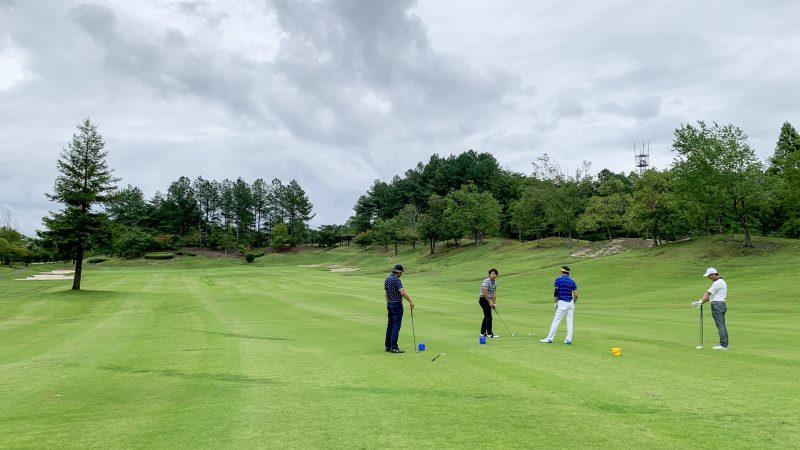 GEN-TENゴルフコースレッスンの写真コースレッスン風景