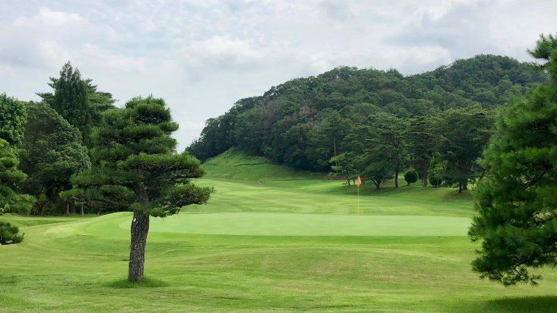 GEN-TENゴルフコースレッスン千刈CC9番グリーンの写真