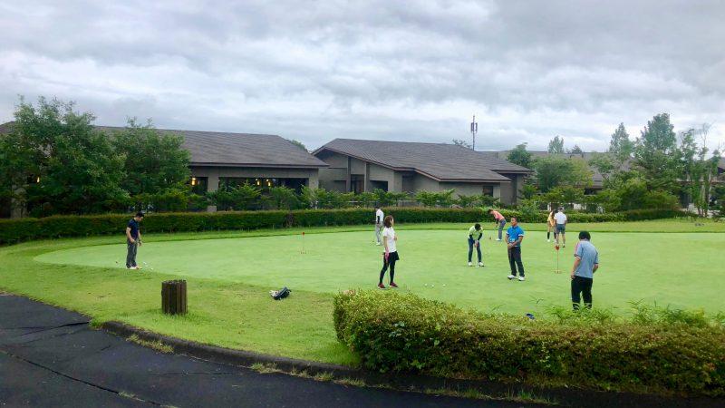 GEN-TENゴルフコースレッスントライフィールドパッティンググリーンの写真
