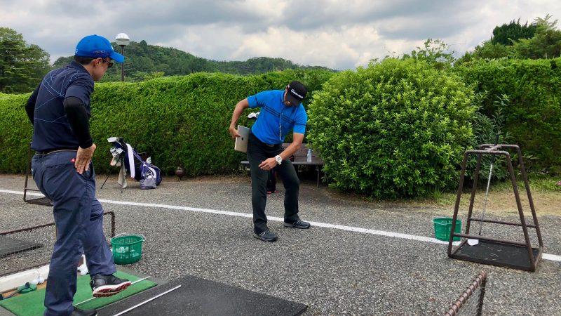 GEN-TENゴルフコースレッスンハーフラウンドロングゲームレッスンの写真④