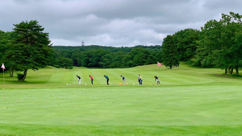 GEN-TENゴルフコースレッスントライフィールド30yのアプローチの写真