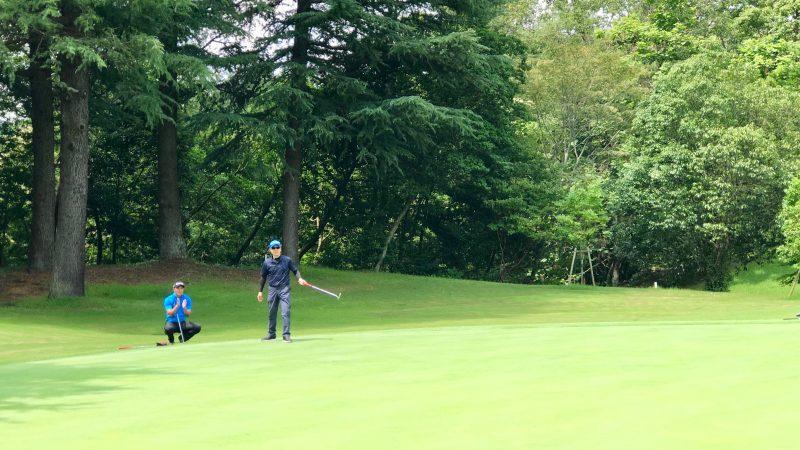 GEN-TENゴルフコースレッスンハーフラウンドパッティングの写真