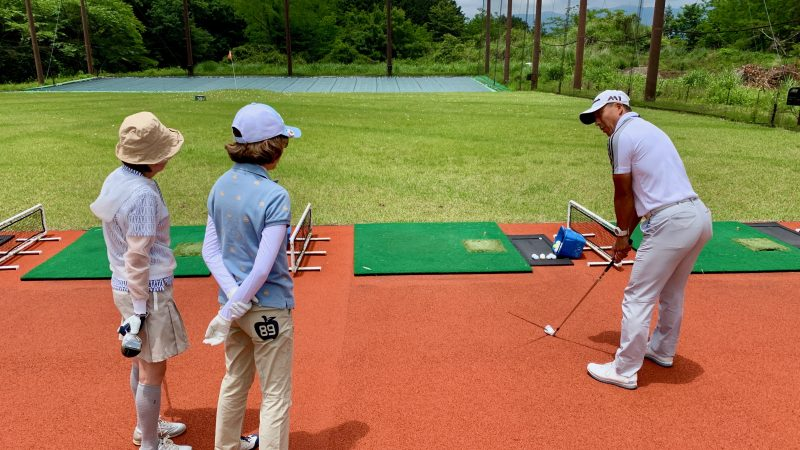 GEN-TENゴルフコースレッスンギャツビイGCドライビングレンジの写真③