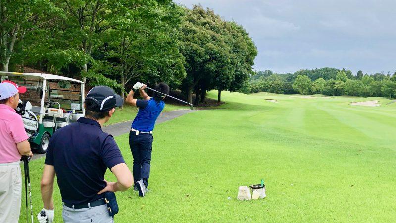 GEN-TENゴルフコースレッスン体験レッスンデモショットの写真