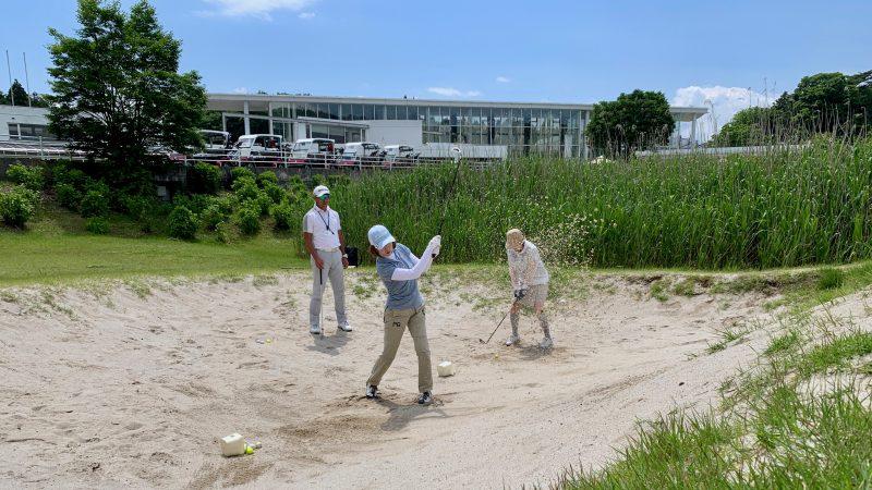 GEN-TENゴルフコースレッスンギャツビイGCバンカー練習場の写真