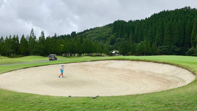 GEN-TENゴルフコースレッスンJOYXGCバンカーショットの写真